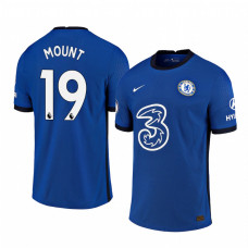 WOMEN - Chelsea 2020-21 Mason Mount Home Shades Blue Authentic Jersey
