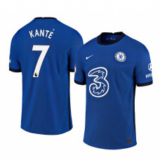 WOMEN - Chelsea 2020-21 N'Golo Kante Home Shades Blue Authentic Jersey