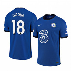 WOMEN - Chelsea 2020-21 Olivier Giroud Home Shades Blue Replica Jersey