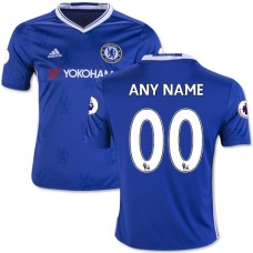 Kid's Customized 2016/17 Chelsea Blue  Home Replica Jersey
