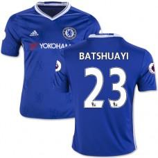 Kid's 16/17 Chelsea #23 Michy Batshuayi Blue Home Replica Jersey - 2016/17 Premier League Soccer Shirt