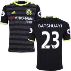 Kid's 16/17 Chelsea #23 Michy Batshuayi Black Away Replica Jersey - 2016/17 Premier League Soccer Shirt