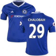 Kid's 16/17 Chelsea #29 Nathaniel Chalobah Authentic Blue Home Jersey - 2016/17 Premier League Soccer Shirt